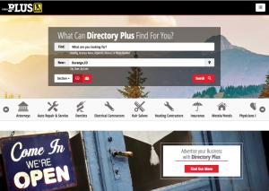 Directoryplus.com homepage